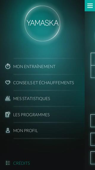 App menu