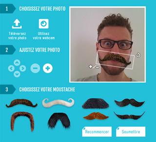 Outil moustaches