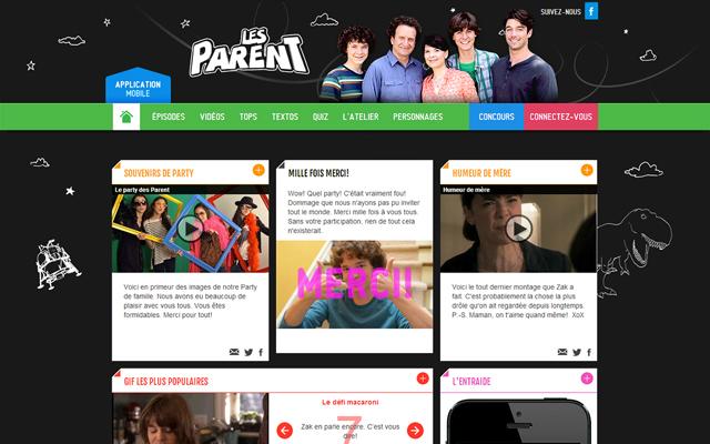 Accueil site Parent