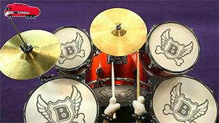 Bookabus drum